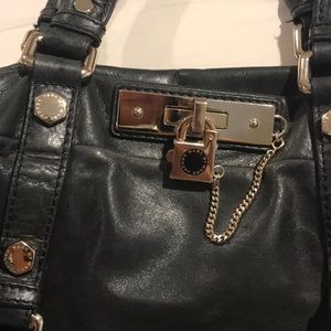 Marc Jacobs purse black leather